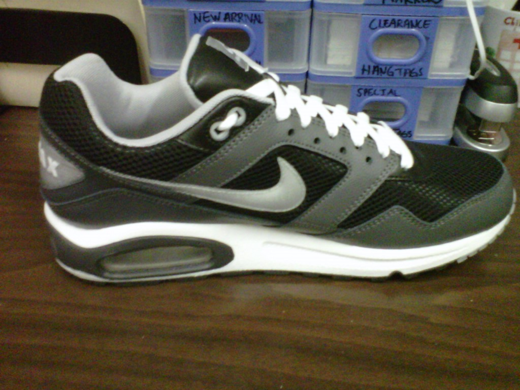 separation shoes 8de32 4be9a In the Stores  Nike Air Max Navigate- Black Grey White – KicksandThings