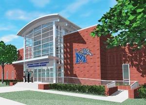 University Of Memphis Athletic Office Building