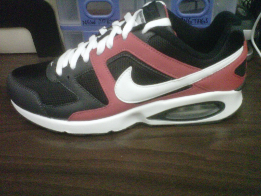 Nike Air Max Chase White Sport Red Black Gray