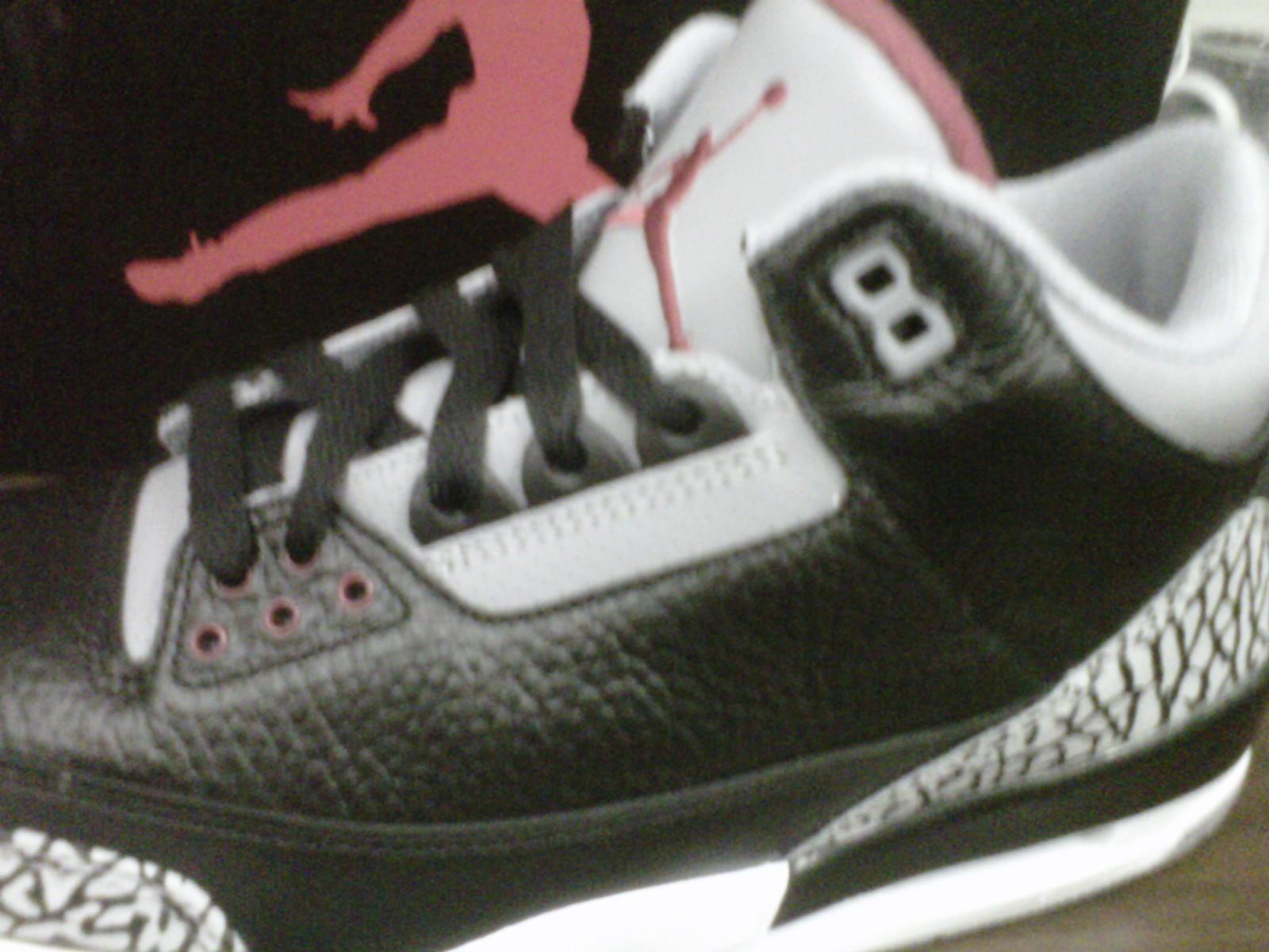 Air Jordan 3 Retro Cemento Negro 2011 De La Nfl kBYToFw