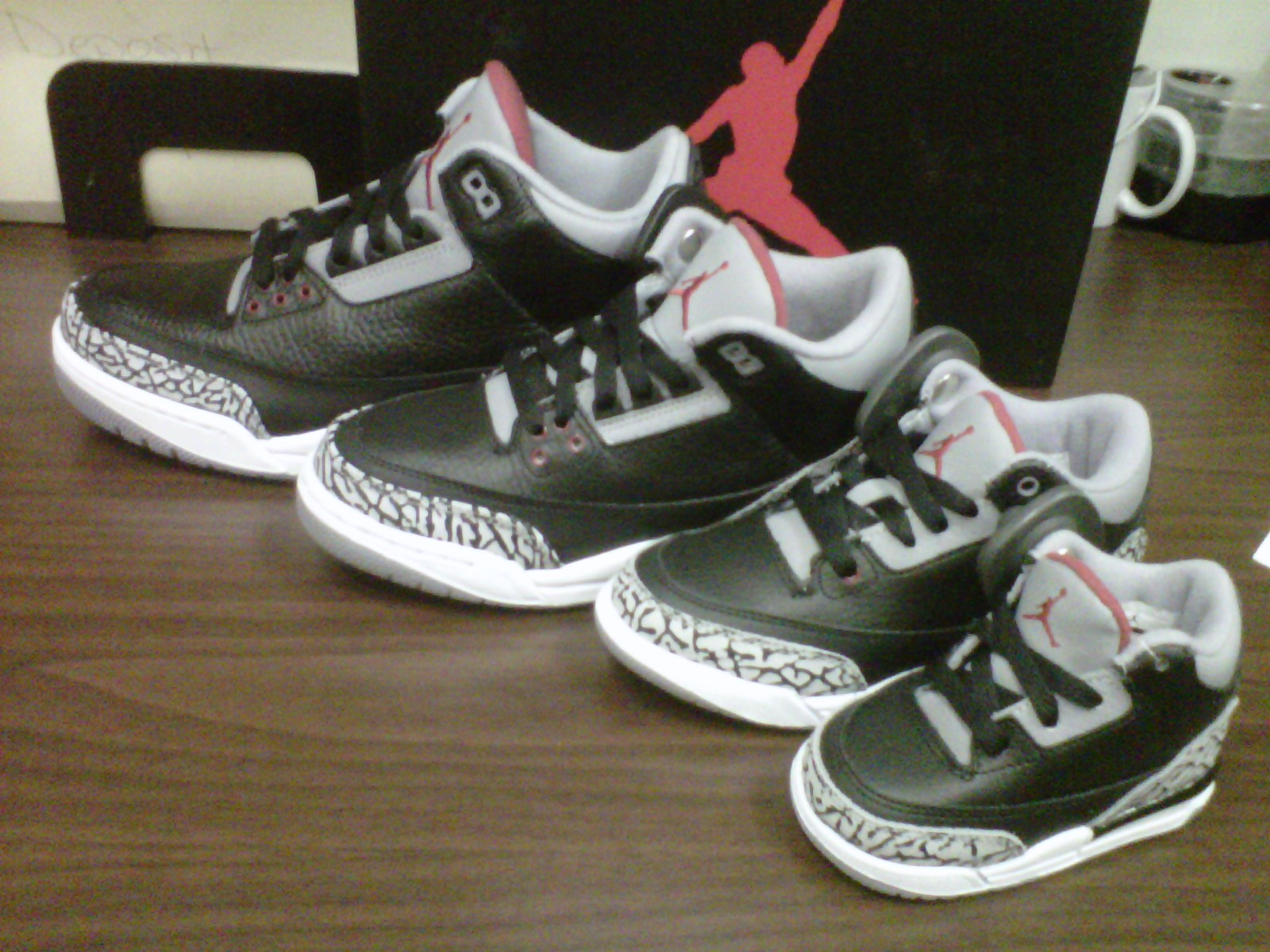 air jordan retro 3 black