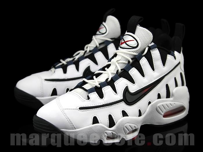 quality design 434b2 0e541 Nike Air Max NM- White Obsidian-Red – KicksandThings