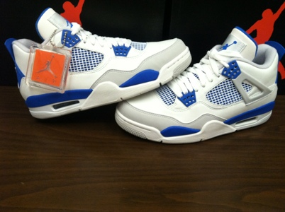 6081194a10f082 This Saturday  Air Jordan 4 Retro-  Military Blue  – KicksandThings