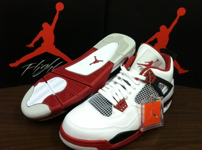 61aef06e21a0e5 This Saturday  Air Jordan 4 Retro-  Fire Red