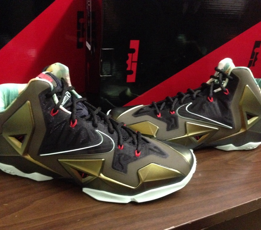 87b169d1788247 In the Stores  Nike LeBron 11-  Kings Pride . This past Saturday ...